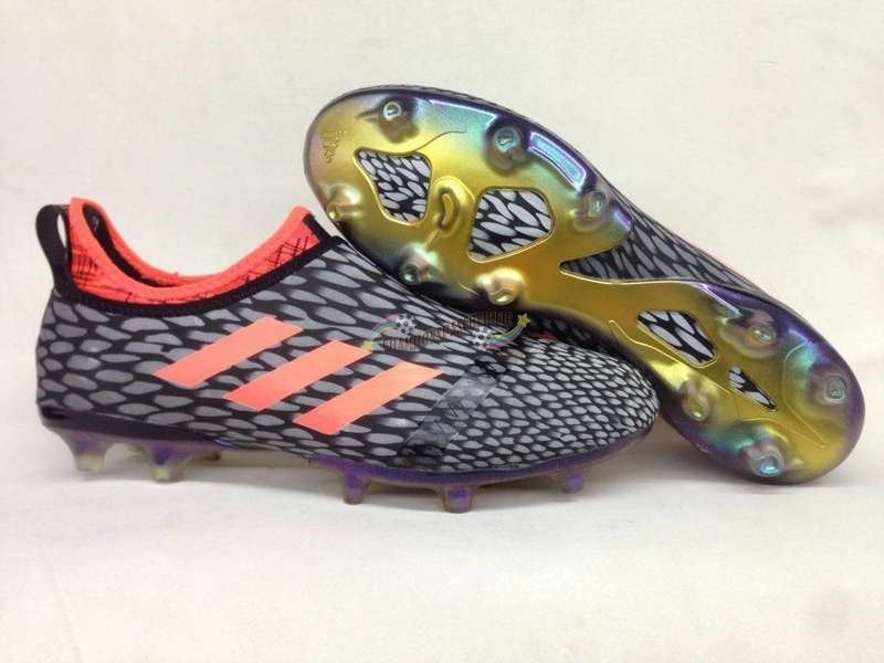 Adidas Glitch Skin 17 FG Orange Gris Nouveau Chaud