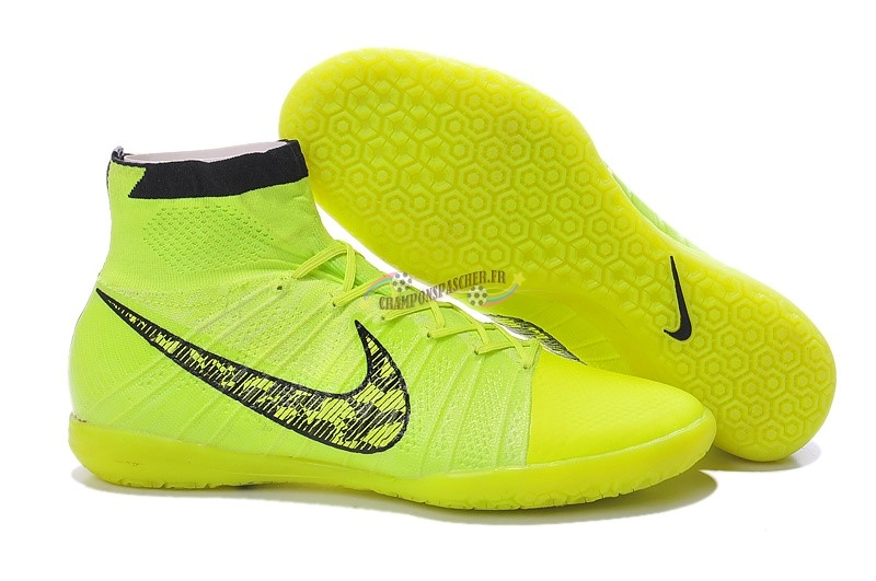 Nike Elastico Superfly IC Vert Fluorescent Nouveau Chaud