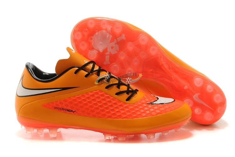 Nike HyperVenom AG Orange Rouge Nouveau Chaud