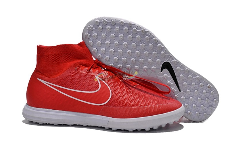 Nike MagistaX Proximo TF Rouge Nouveau Chaud