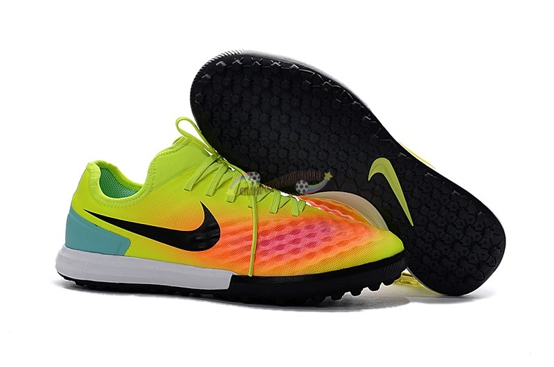 Nike MagistaX TF Jaune Orange Nouveau Chaud