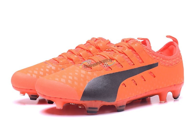 Puma evoPOWER Vigor 1 FG Orange Nouveau Chaud