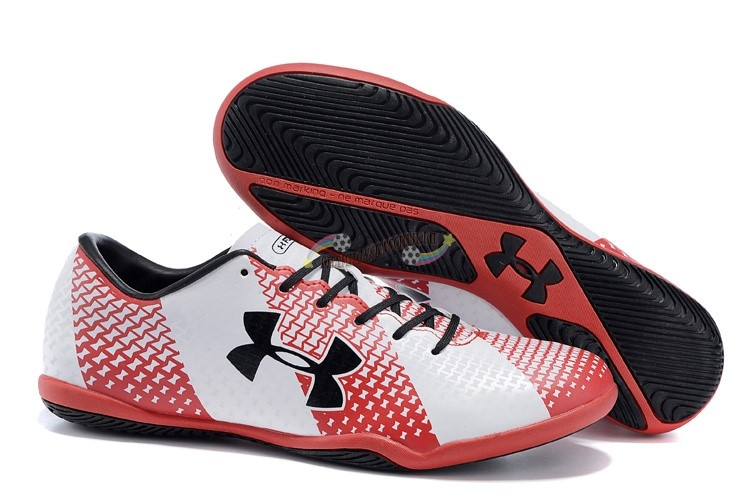 Under Armour Clutchfit Force IC Noir Rouge Blanc Nouveau Chaud