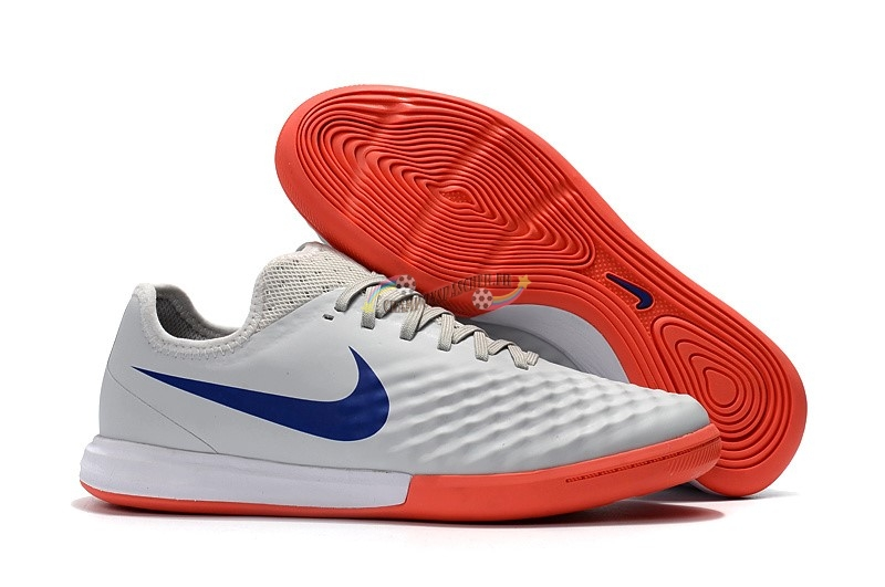 Nike MagistaX Finale II IC Orange Bleu Blanc Nouveau Chaud