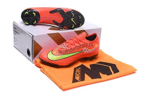 Nike Mercurial Superfly VI Elite FG Jaune Orange Nouveau Chaud