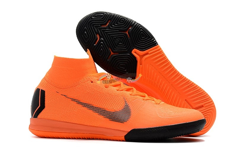 Nike SuperflyX 6 Elite IC Orange Nouveau Chaud