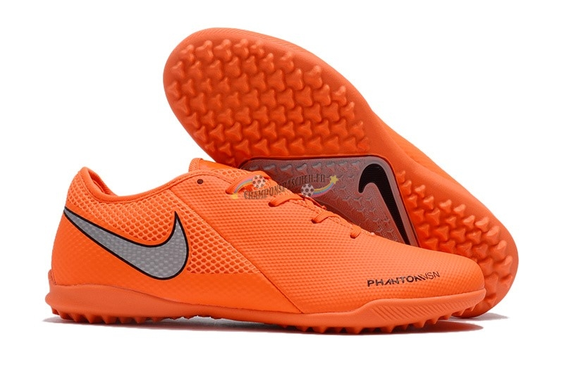 Nike Phantom VSN Academy TF Orange Nouveau Chaud
