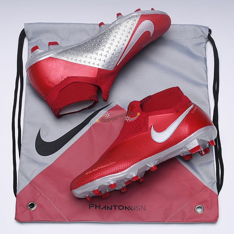 Nike x EA Sports Phantom Vision FG Rouge Nouveau Chaud
