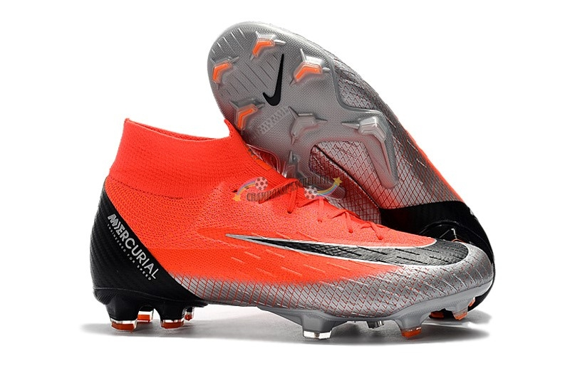 Nike Mercurial Superfly VI Elite CR7 FG Rouge Nouveau Chaud