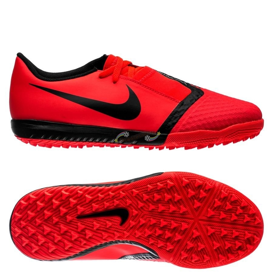 Nike Phantom Venom Academy Enfant TF Game Over Rouge Nouveau Chaud