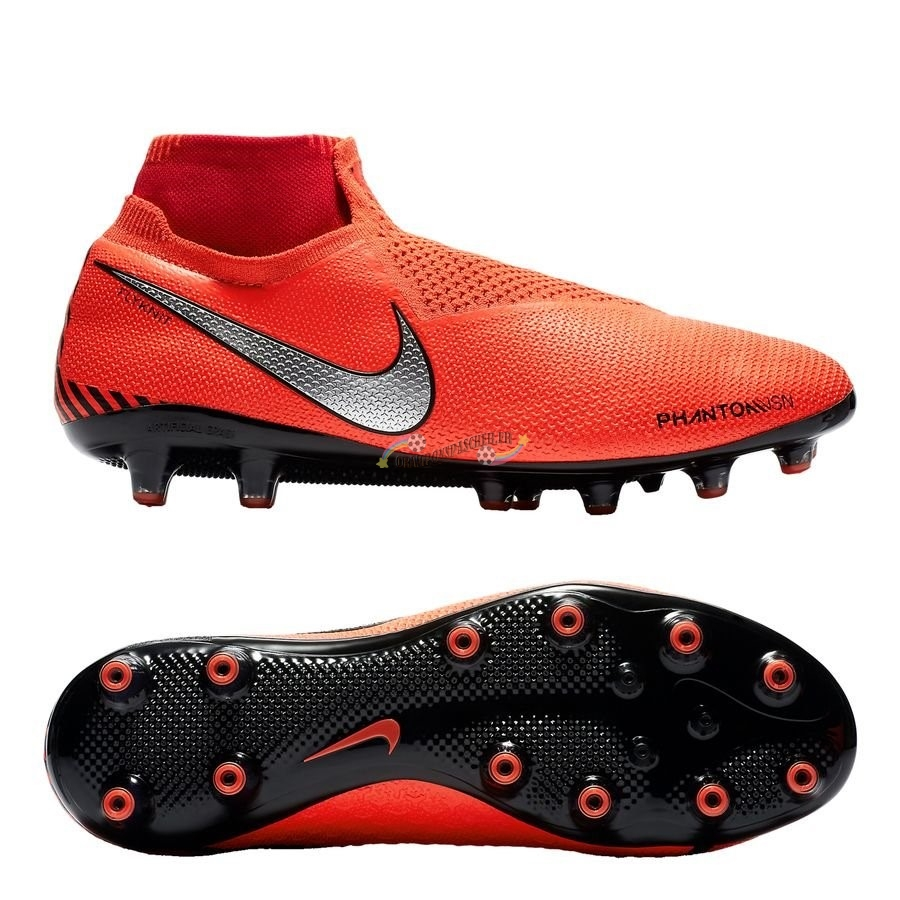 Nike Phantom Vision Elite DF AG PRO Game Over Orange Nouveau Chaud