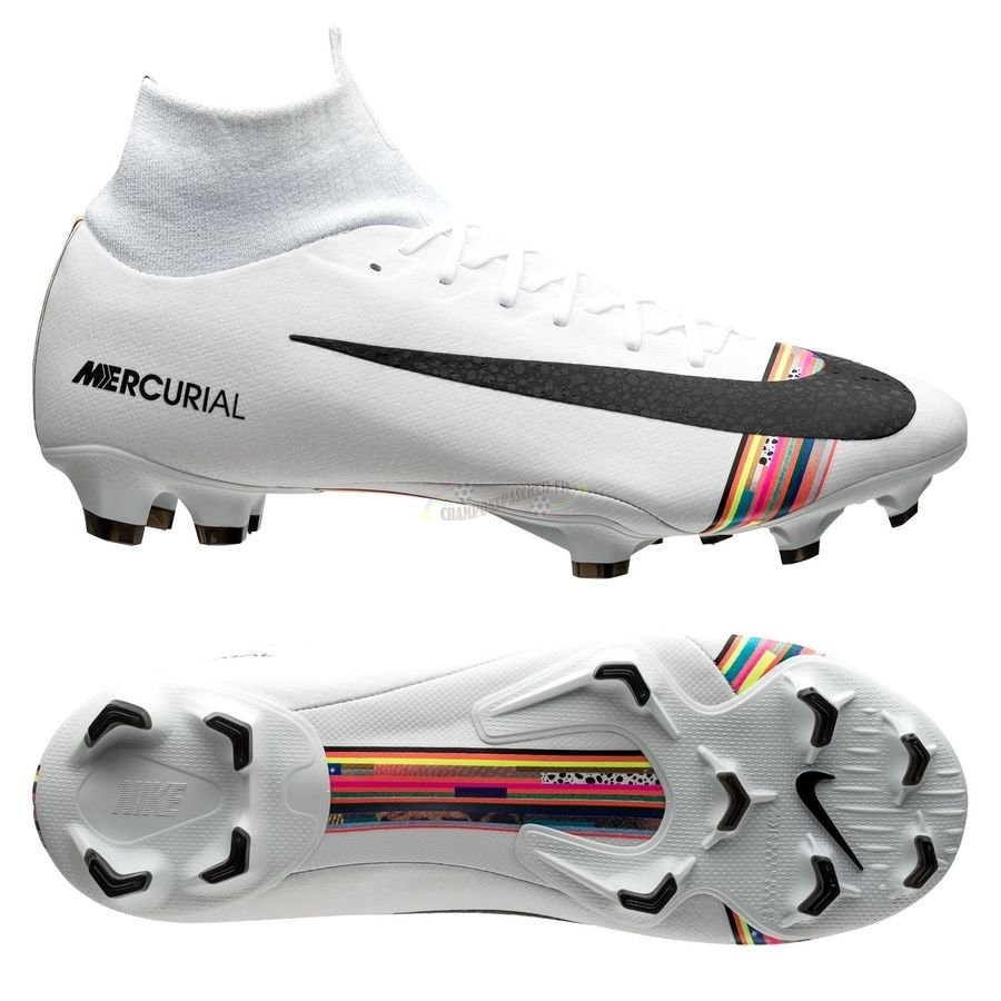 Nike Mercurial Superfly 6 Pro FG LVL UP Blanc Nouveau Chaud