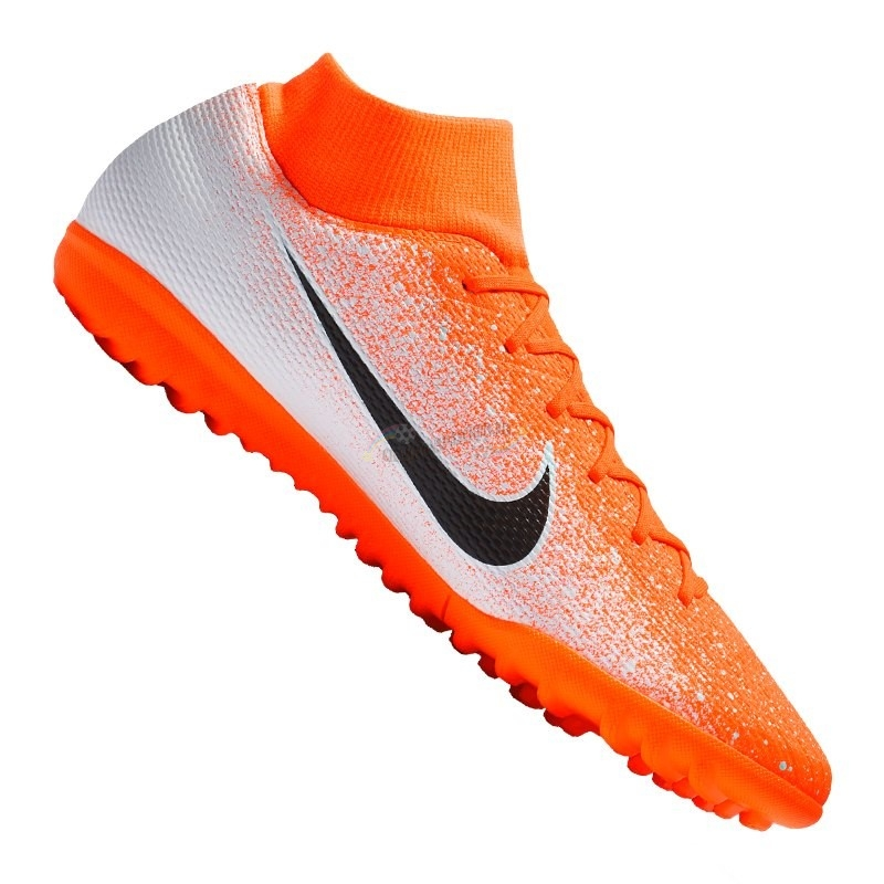 Nike Mercurial SuperflyX VI Academy TF Orange Nouveau Chaud