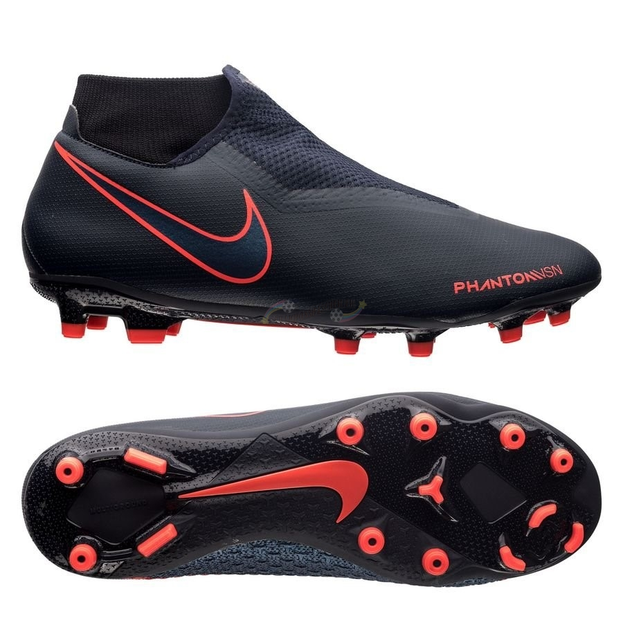 Nike Phantom Vision Academy DF MG Fully Charged Noir Nouveau Chaud
