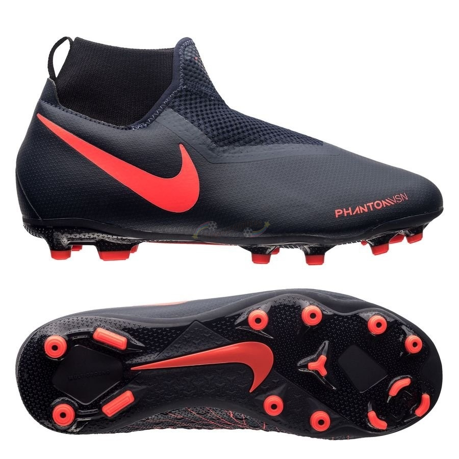Nike Phantom Vision Academy Enfant DF MG Fully Charged Noir Nouveau Chaud