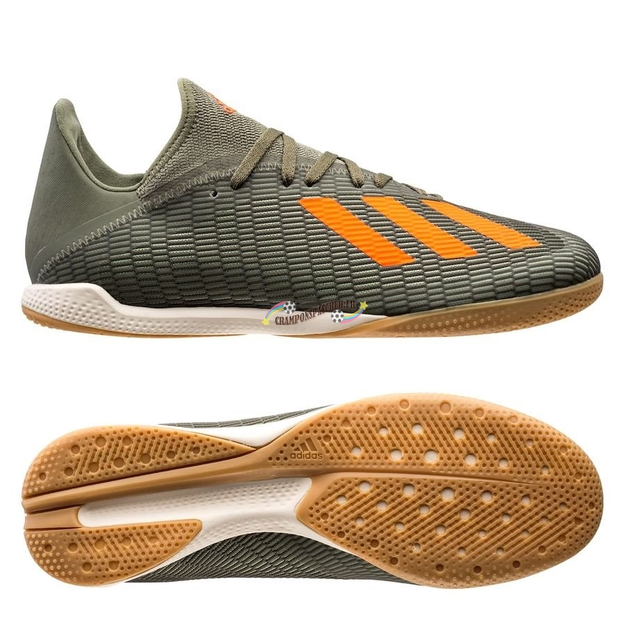 Adidas X 19.3 IN Encryption Vert Nouveau Chaud