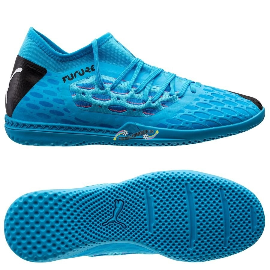 Puma Future 5.3 Netfit IT Flash Bleu Nouveau Chaud